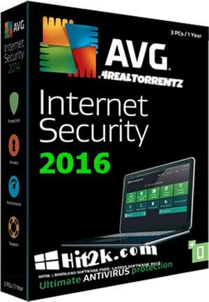 AVG Internet Security 2016 v16.7 Key Serial Full Version