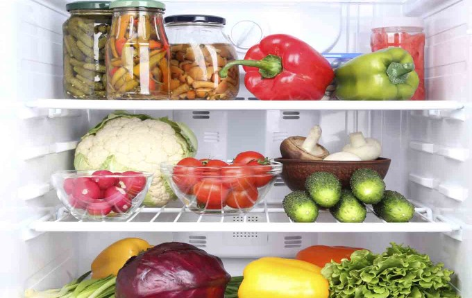 conservar alimentos en la refrigeradora