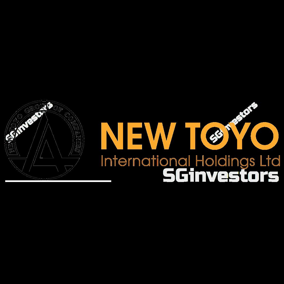 NEW TOYO INT HLDGS LTD (SGX:N08) @ SGinvestors.io