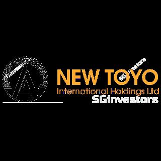 NEW TOYO INT HLDGS LTD (N08.SI) @ SG investors.io
