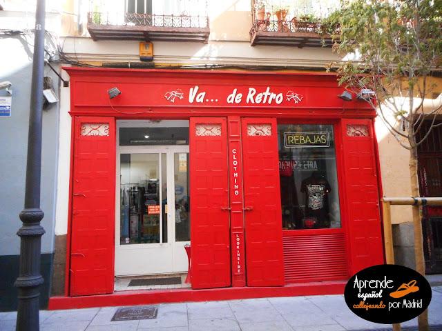 Aprende español callejeando por Madrid: Puro ego