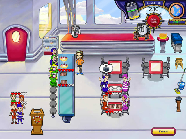 Diner Dash Flo on the Go PC Game