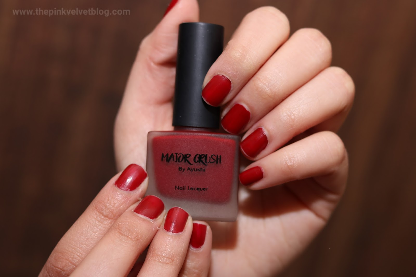 Major Crush Pure Matte Nail Paint by Ayushi - Shade 103 February Fab Bag