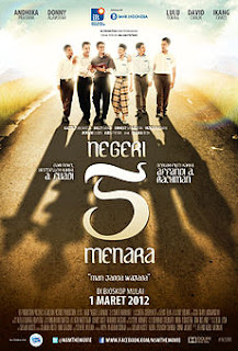 Review Film Novel Negeri 5 Menara