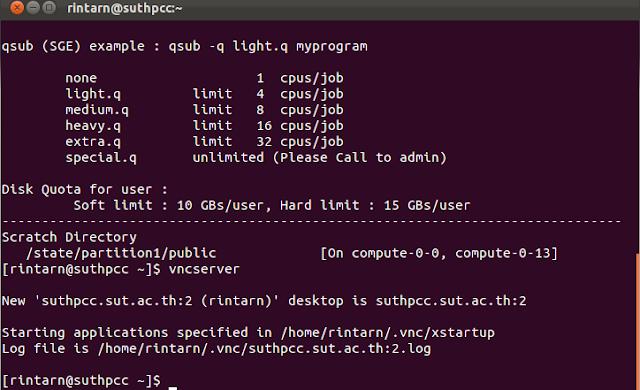 การใช้ TightVNC ใน Ubuntu