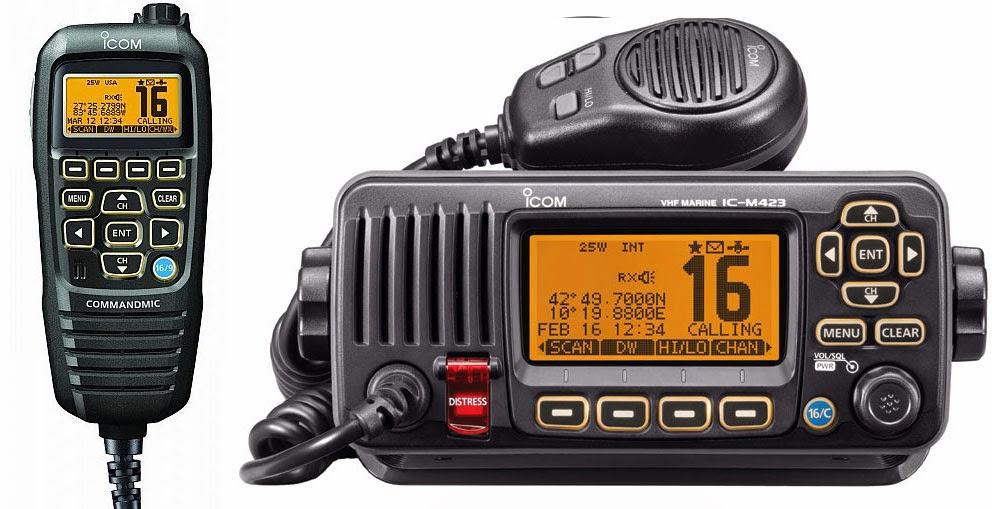 iCom IC-M423 VHF med håndsett