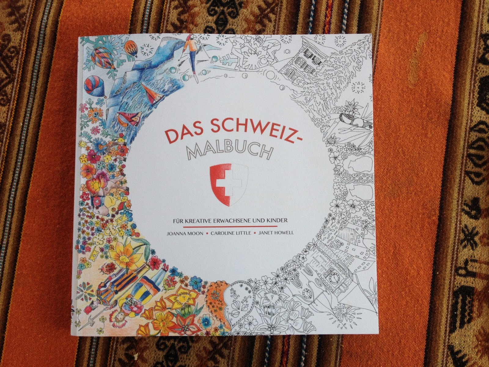 The Big Swiss Coloring Book   A Humorous Guide to Switzerland
