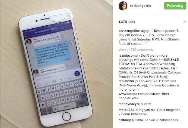 Carla Abellana's New And Expensive iPhone Breaks! Why? Read This!
