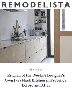 Remodelista _ Ilaria Fatone _ Kitchen Ikea Hack
