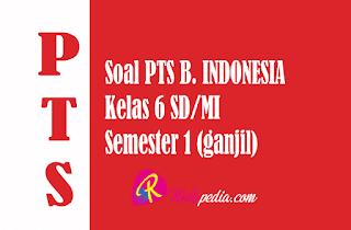 Materi Soal PTS Bahasa Indonesia Kelas 6 Semester 1 Terbaru Lengkap Kunci Jawaban