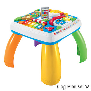 mesa aprendizaje regalo bebé ideas blog mimuselina fisher price