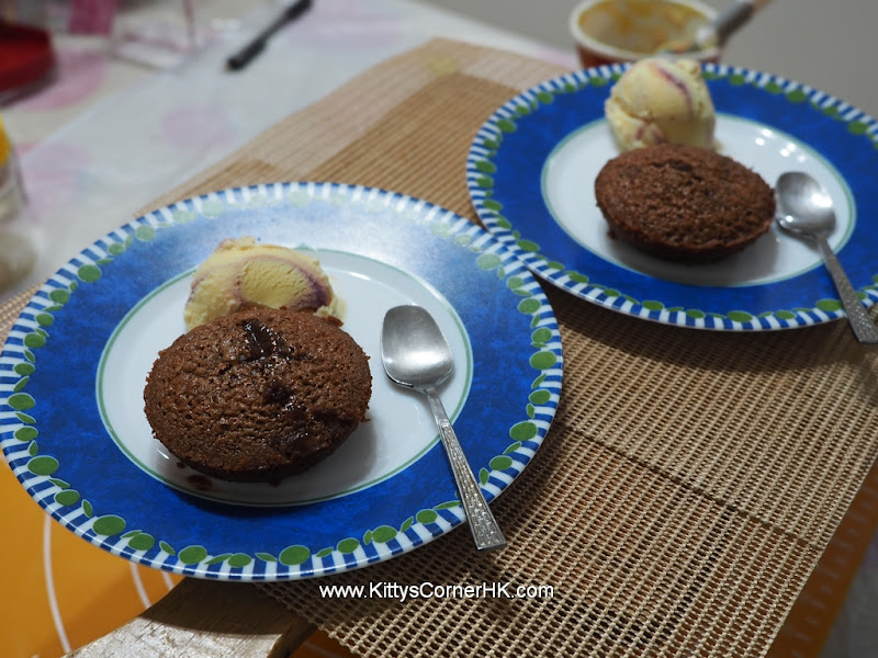 Molten Chocolate Cake 巧克力熔岩蛋糕 自家烘焙 食譜 home baking recipes