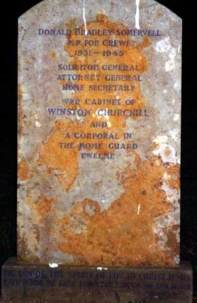 Donald Somervell grave - from Find-a-Grave (photograph taken by Kieran Smith, 2000)