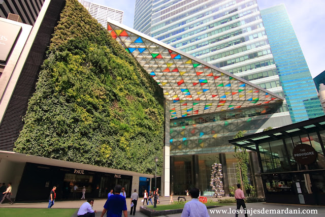 Jardín vertical más grande del mundo
