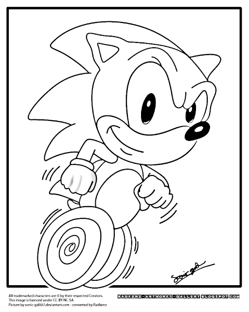 Sonic the Hedgehog Coloring Pages, Learn Coloring with Sonic ... | 640x512