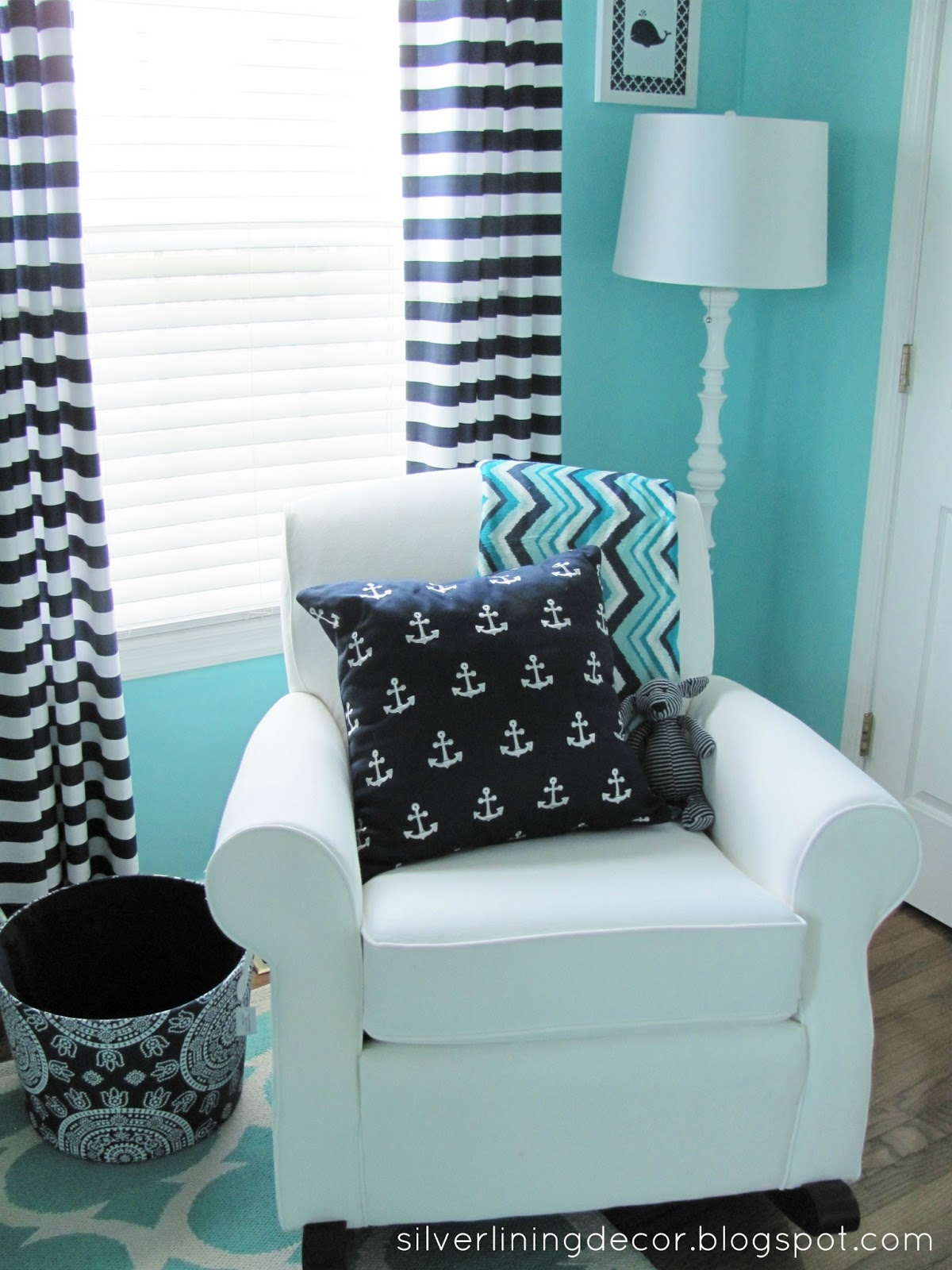Silver Lining Decor Nautical Nursery Reveal