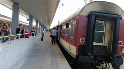 Tren de Sofía a Estambul