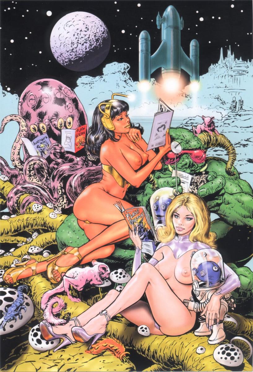 Dutkiewicz - SPACE COMICS FANS