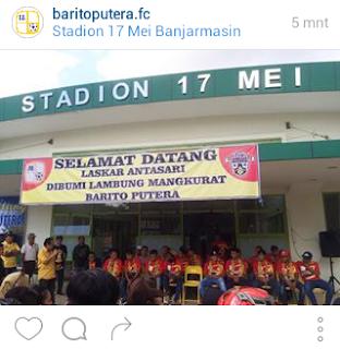 Com April  Info Sepakbola Ps Barito Putera Isl