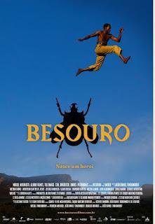"Cinema Pontos Mis /Ilha exibe, na sexta 12/04,  os filmes ""Besouro"" e ""Quase Samba"""