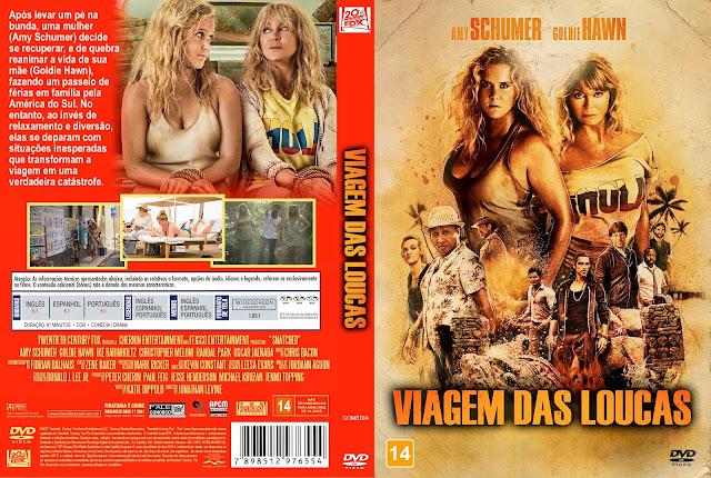 Capa DVD Viagem das Loucas [Custom]