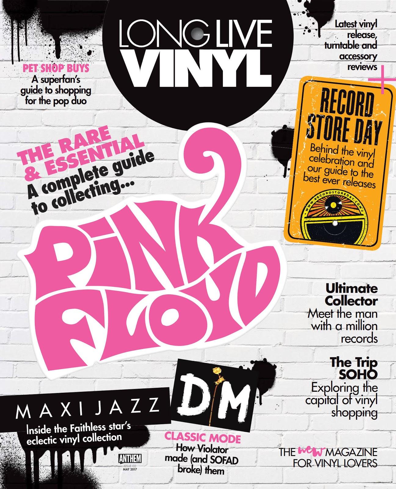 Pink Floyd Ilustrado Pink Floyd Long Live Vinyl 02