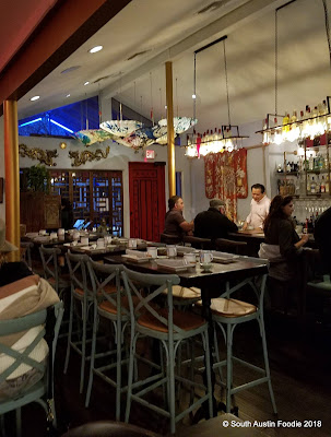 Lin Asian Bar interior