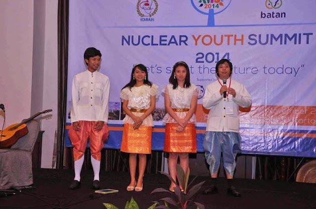 Penampilan dari peserta Thailand | nys2014