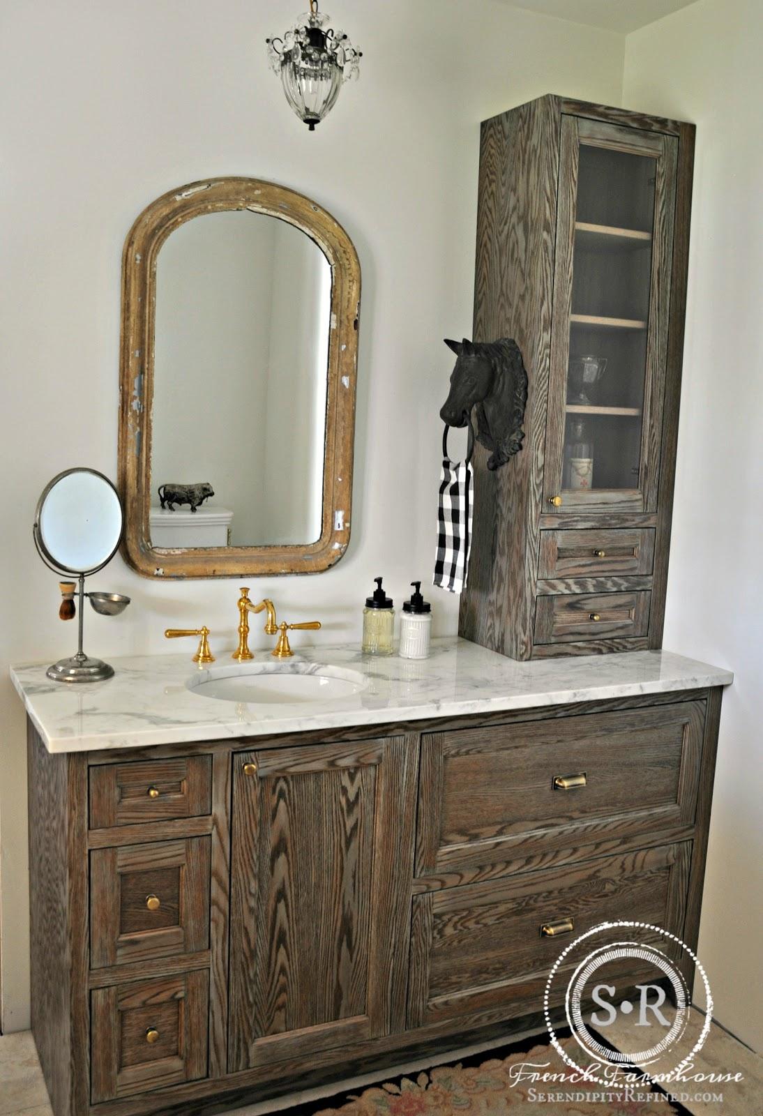 Serendipity Refined Blog: Rustic European Farmhouse Style ... on Rustic Farmhouse Bathroom  id=49021