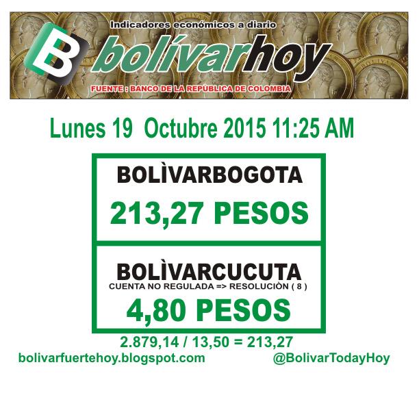 a cuanto esta el bolivar venezolano