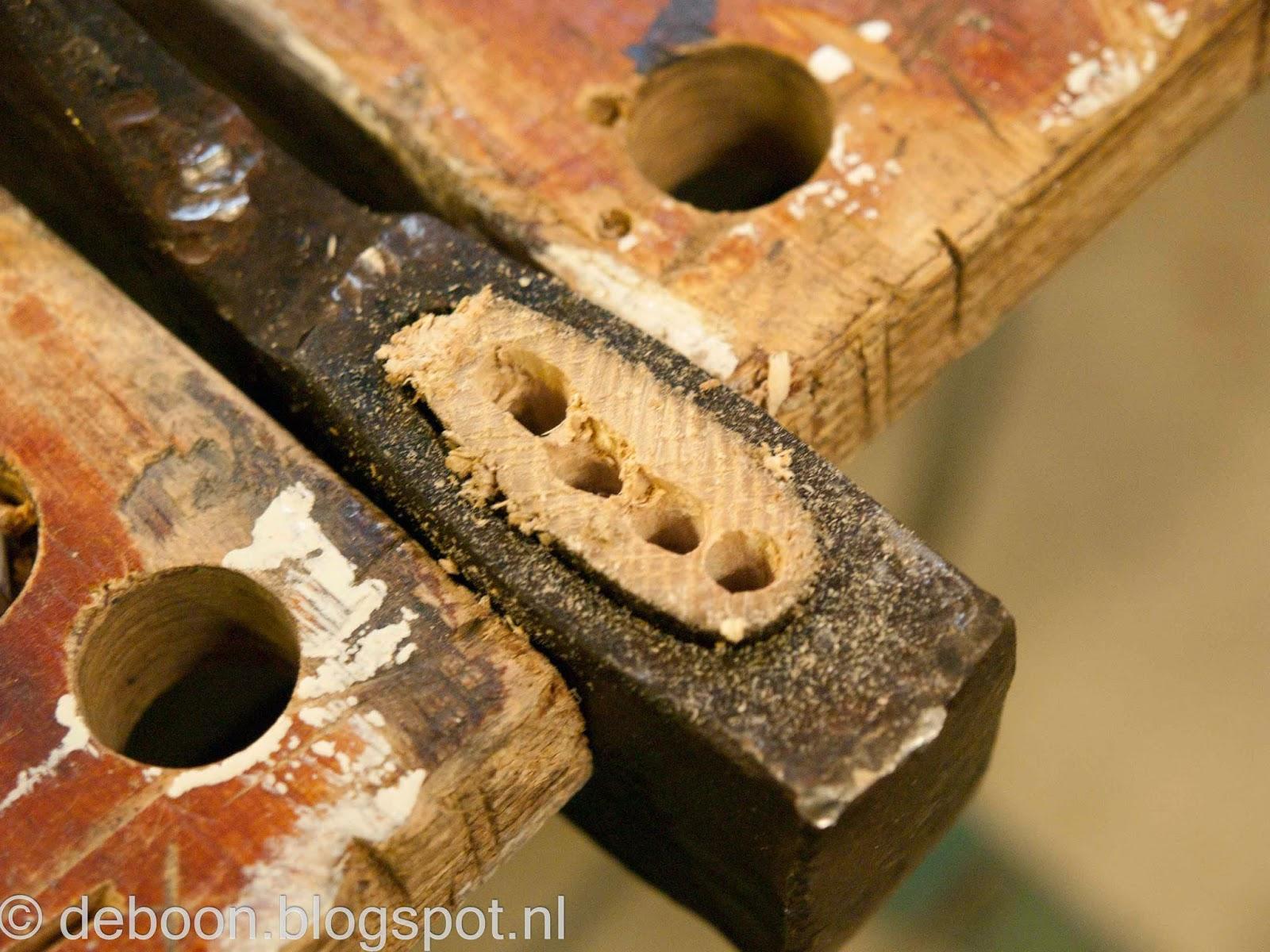 Steel bijl vervangen aanzetten