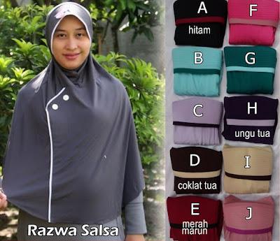 Grosir Jilbab Razwa Salsa