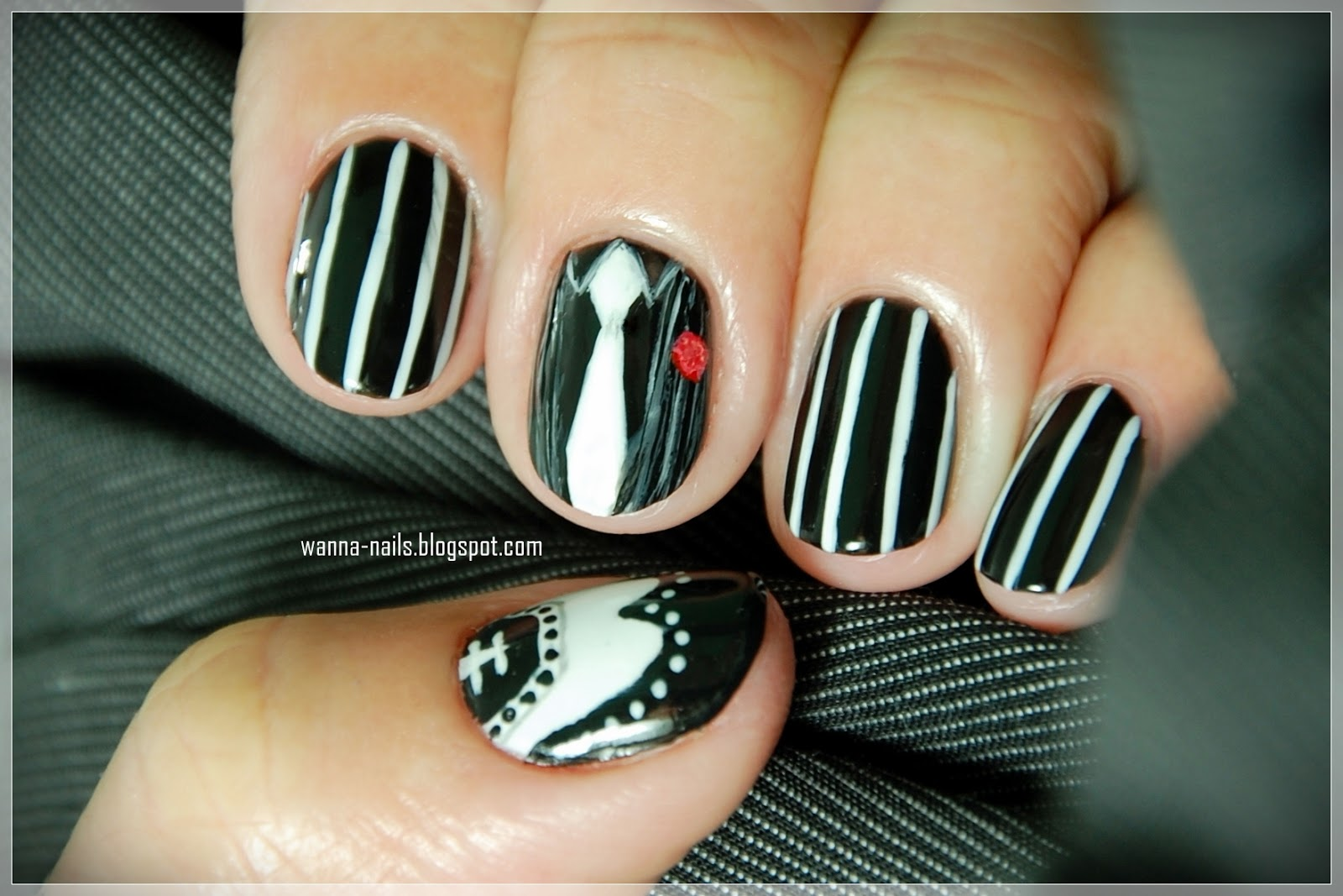 The Polish Addict Group Challenge - 16. Gangster nails ...