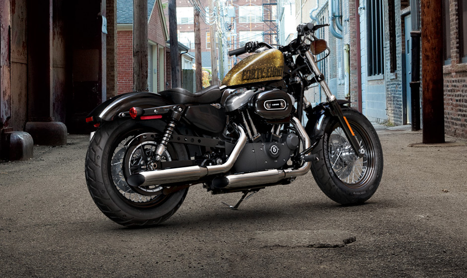 Harley Davidson Forty Eight 2013 XL1200X Review
