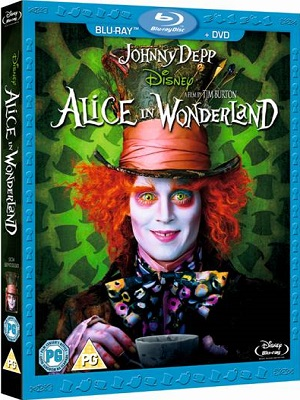 Alice in Wonderland (2010) Movie 720p BluRay 750mb