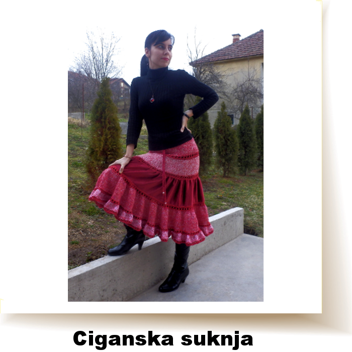 http://jelenacreative.blogspot.com/2015/01/ciganska-suknja-u-kombinaciji-pletenja.html