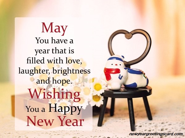happy new year best wishes - new year greeting cards