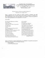 Subiecte limba franceza 2015 - grad didactic II Bucuresti