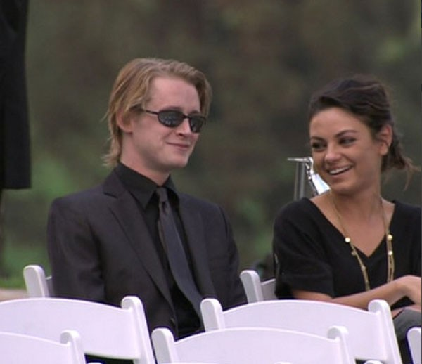 macaulay culkin mila kunis - photo #17