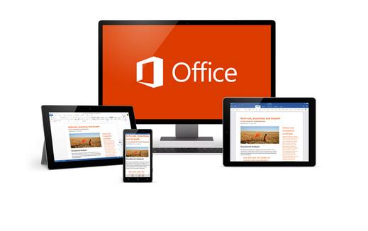 微軟「Office 2016」今年下半問市,觸控導向版隨Windows 10釋出