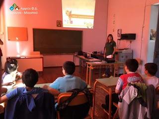 Eνημέρωση μαθητών με αφορμή την Παγκόσμια Ημέρα Χελώνας