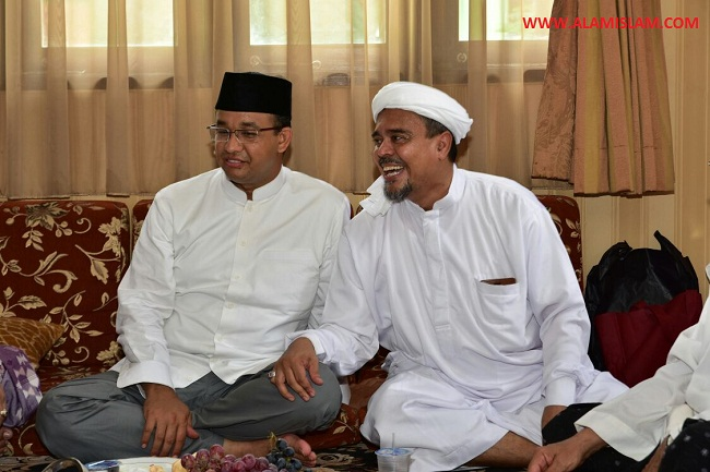 Anies Baswedan tunjukkan kepada bangsa Indonesia bahwa ia bukan kacung cukong Cina.