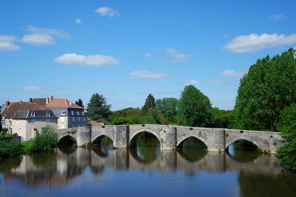 vienne france saint-savin pont