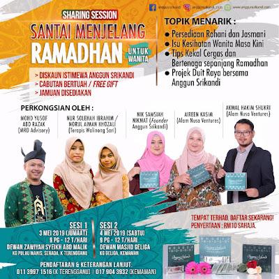 Santai Menjelang Ramadan Di Kuala Terengganu Oleh Anggun Srikandi