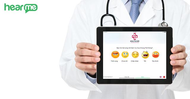 Giải pháp đánh giá sự hài lòng tại bệnh viện - phòng khám và cơ sở y tế