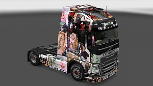 Jessica Nigri Pack Skin for All Trucks
