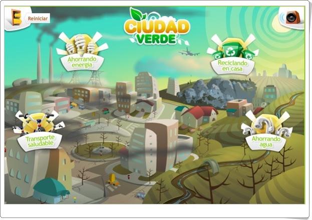 Ciudad verde (Educación ambiental de Primaria)