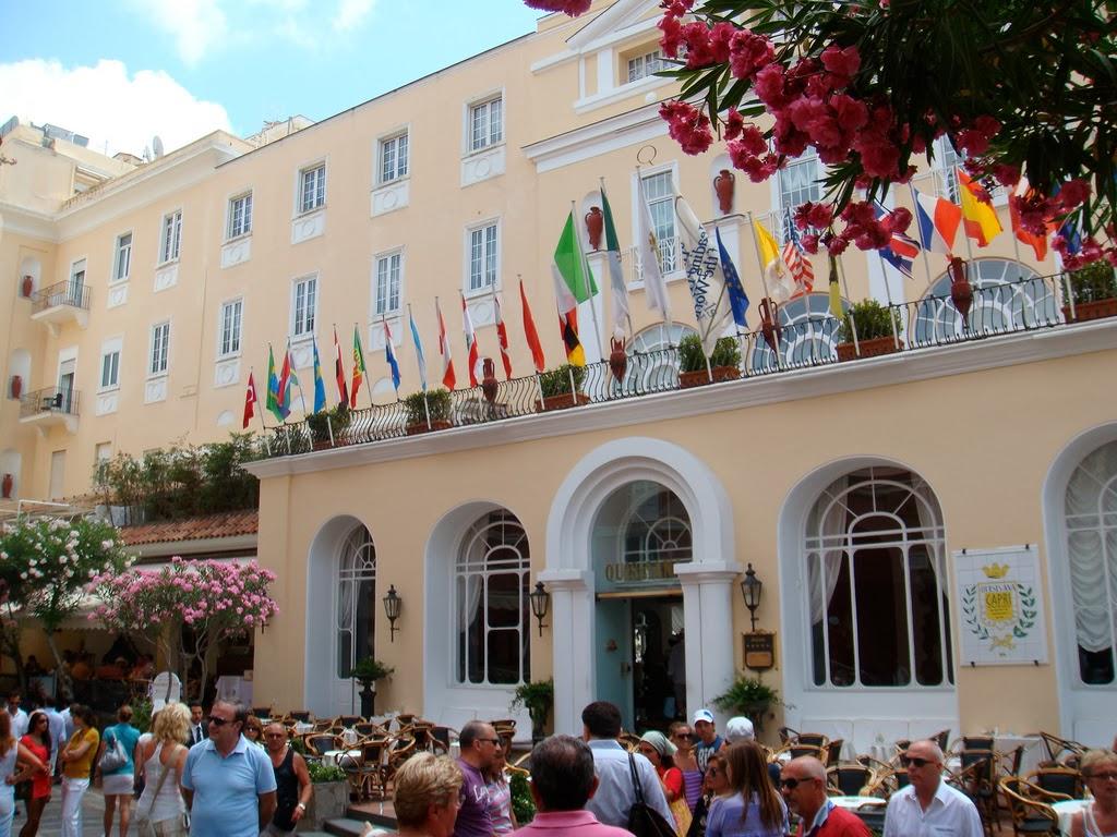 Hotel em Capri, centro histórico