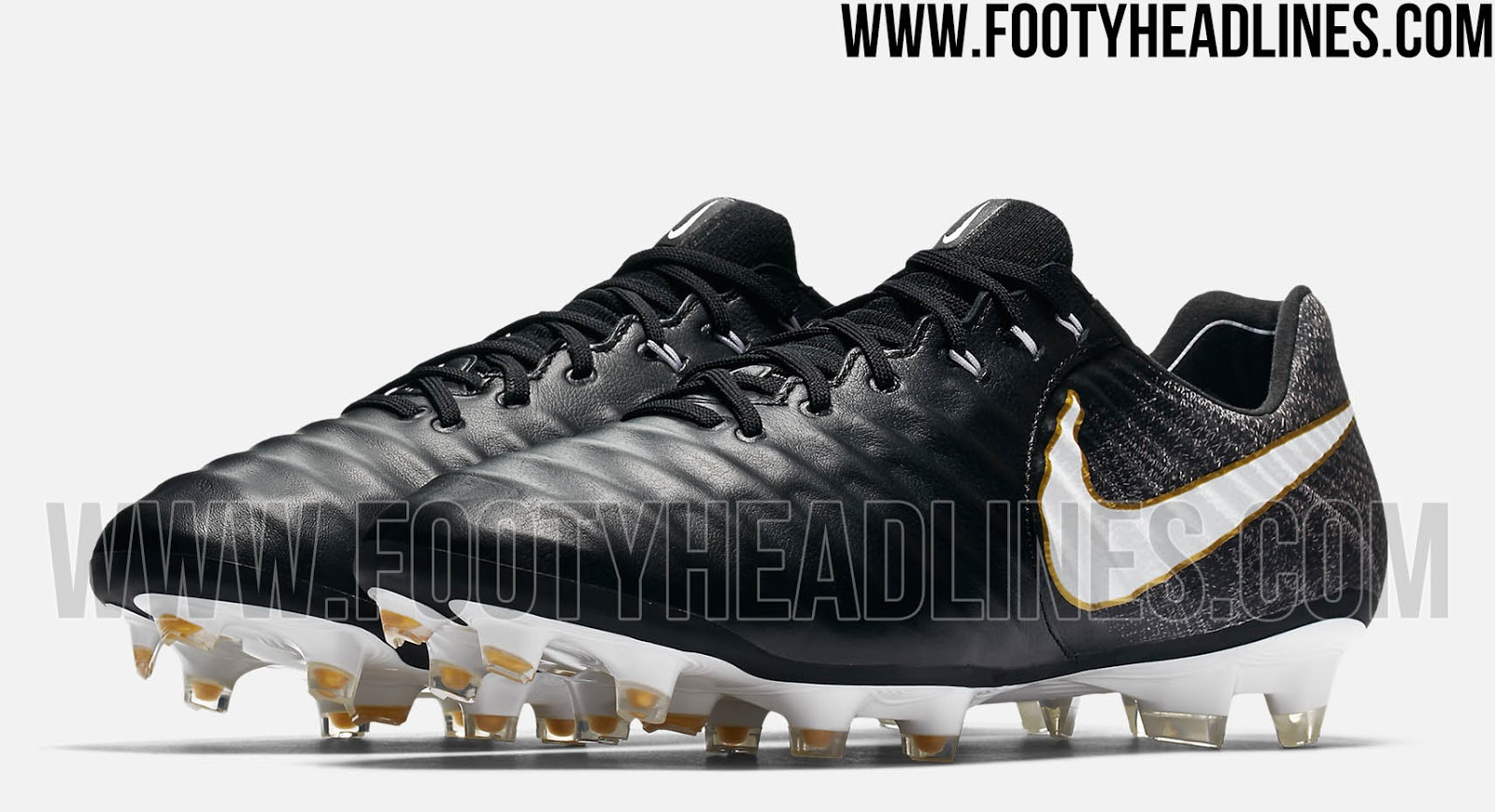 nike tiempo legend vii boots black white gold. Black Bedroom Furniture Sets. Home Design Ideas