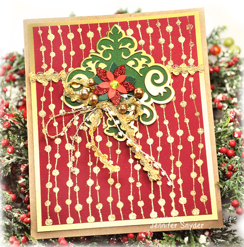 Scrap Escape: Traditional and Festive DIY Christmas Cards